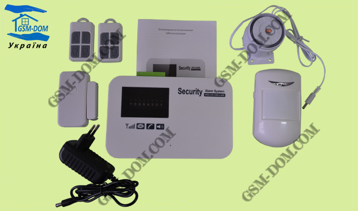 GSM сигнализация KERUI GSM-02