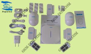 GSM сигнализация KERUI W-1