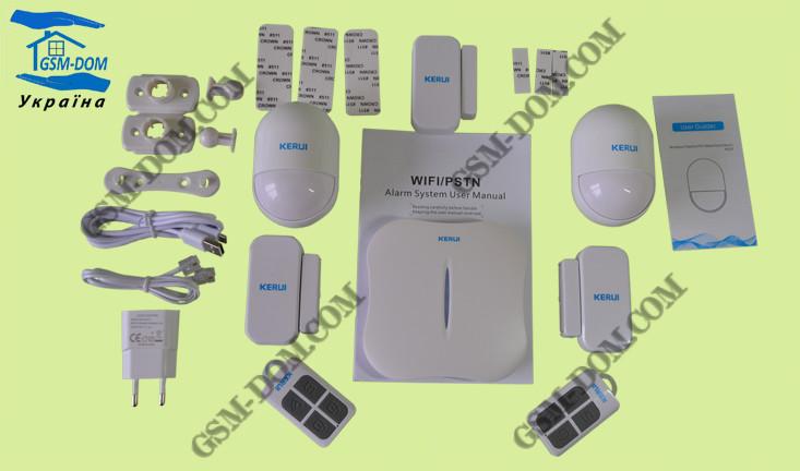 Wi-Fi сигнализация KERUI W-1
